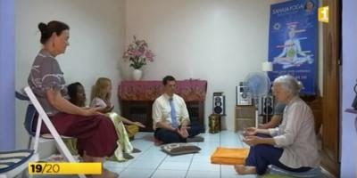 Les ateliers de méditation à Saint-Pierre de la Réunion (974) à la télévision