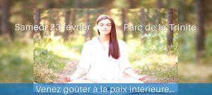 Atelier de méditation le 23 février à St Denis de la Réunion