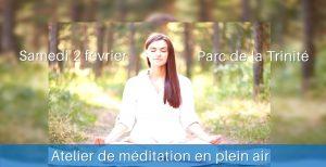 Méditation Sahaja Yoga à la Réunion : atelier au parc de la Trinité